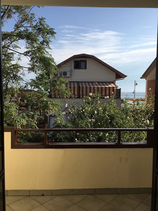 Balcone camera da letto, vista mare - foto1
