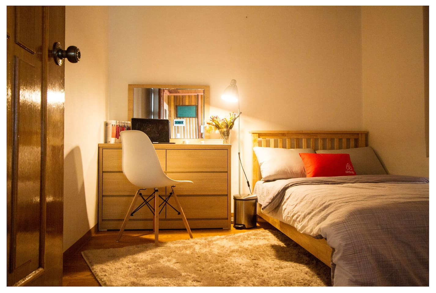 Newly arranged room!