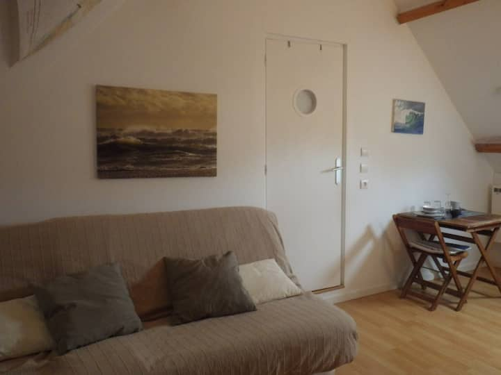 Studio LA VAGUE - GRAYE SUR MER (JUNO BEACH)