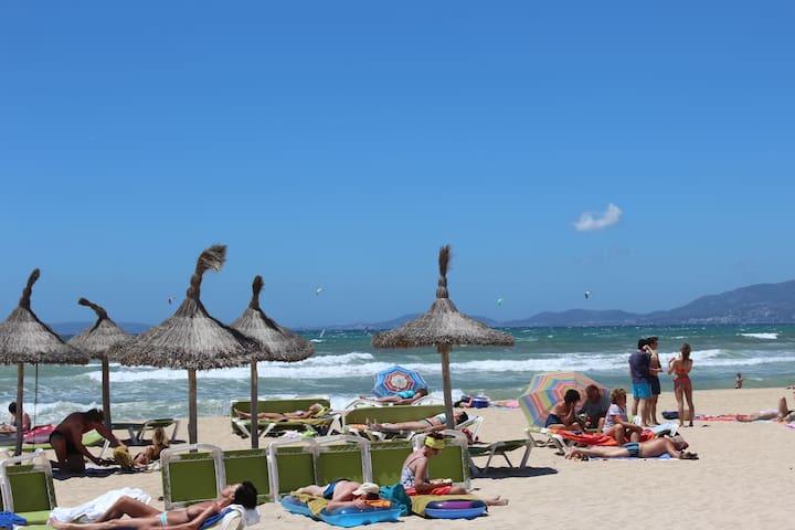 Estudió a 25 metros de la playa - Palma - Leilighet