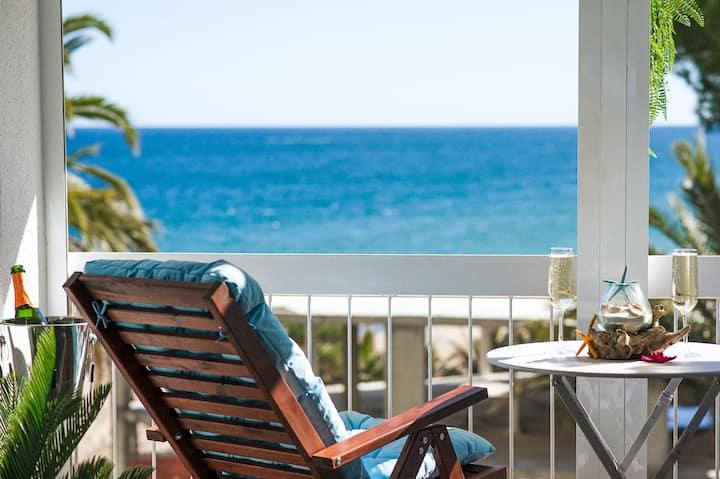 Beautiful sea view apartment in Platja d' Aro