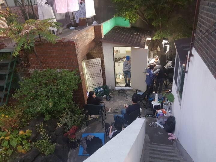 韓国ソウル新村  1인 단독  자가격리 自己隔離    自我隔离 B02풀하우스  5인가능 2