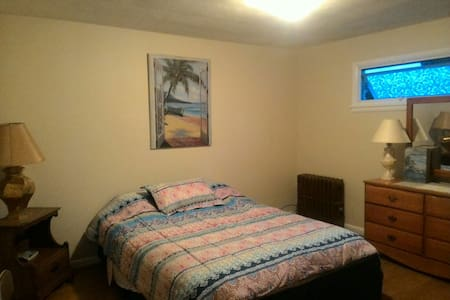 Large bedroom with queen bed. - Wilkes-Barre - 独立屋