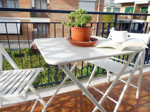 Super apartment by the sea between Rome and Naples