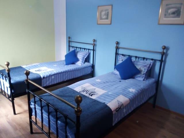 Costa's Cozy Villa Black Sea blue room