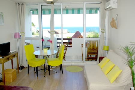 Studio de Charme - sea & beach view - Boucan Canot - Квартира