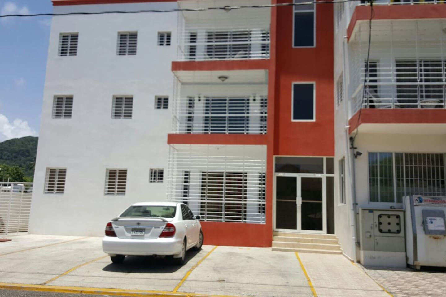Clean Building in a quiet secure neighborhood with assigned parking.