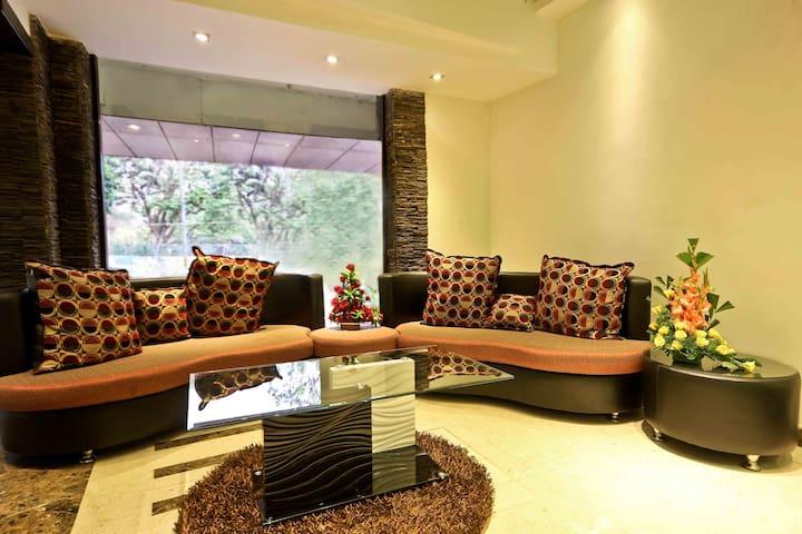Mango Comfort Hotel Room-  Prajwal Bengaluru