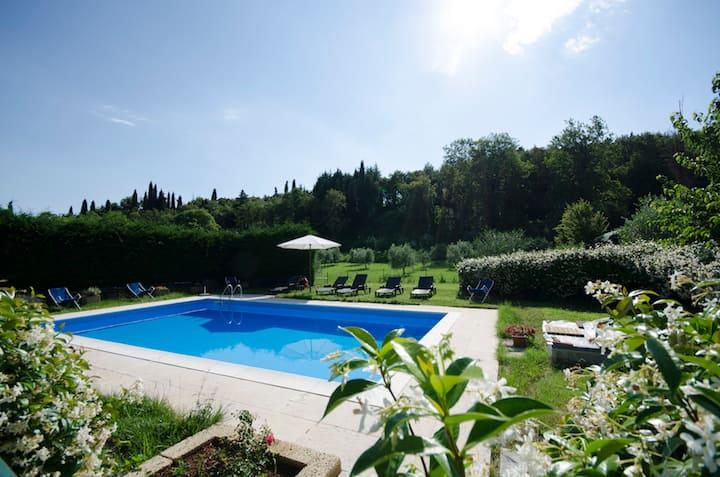 Rilassante casa di campagna - Lago di Garda