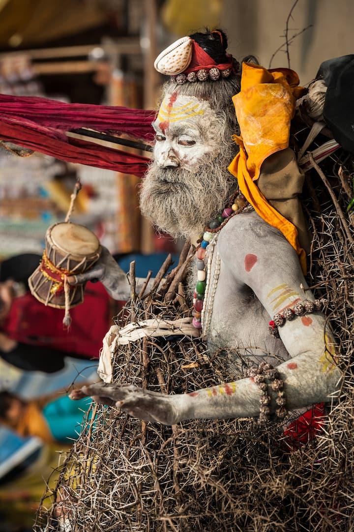 Kumbh Mela Naga Baba