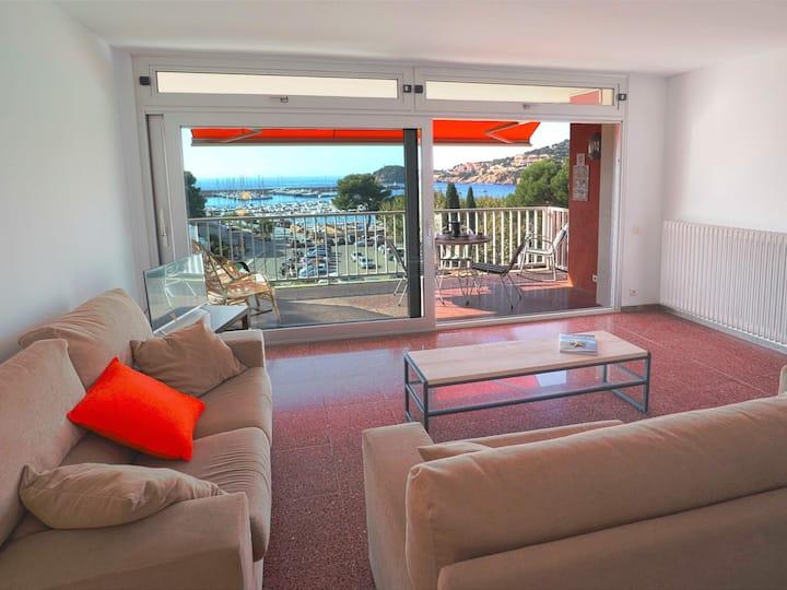 Nou Xaica- Apartment. for 6 pax sea view D23002