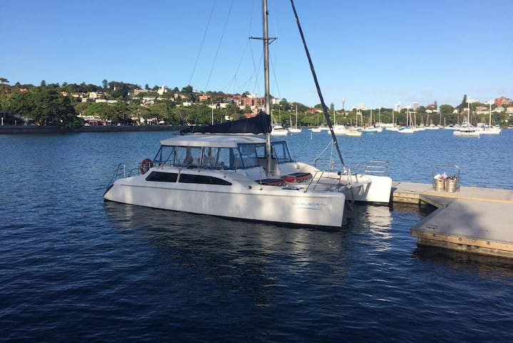 Wavelength Harbour Cruises. Rose Bay, Sydney - Rose Bay - Båt