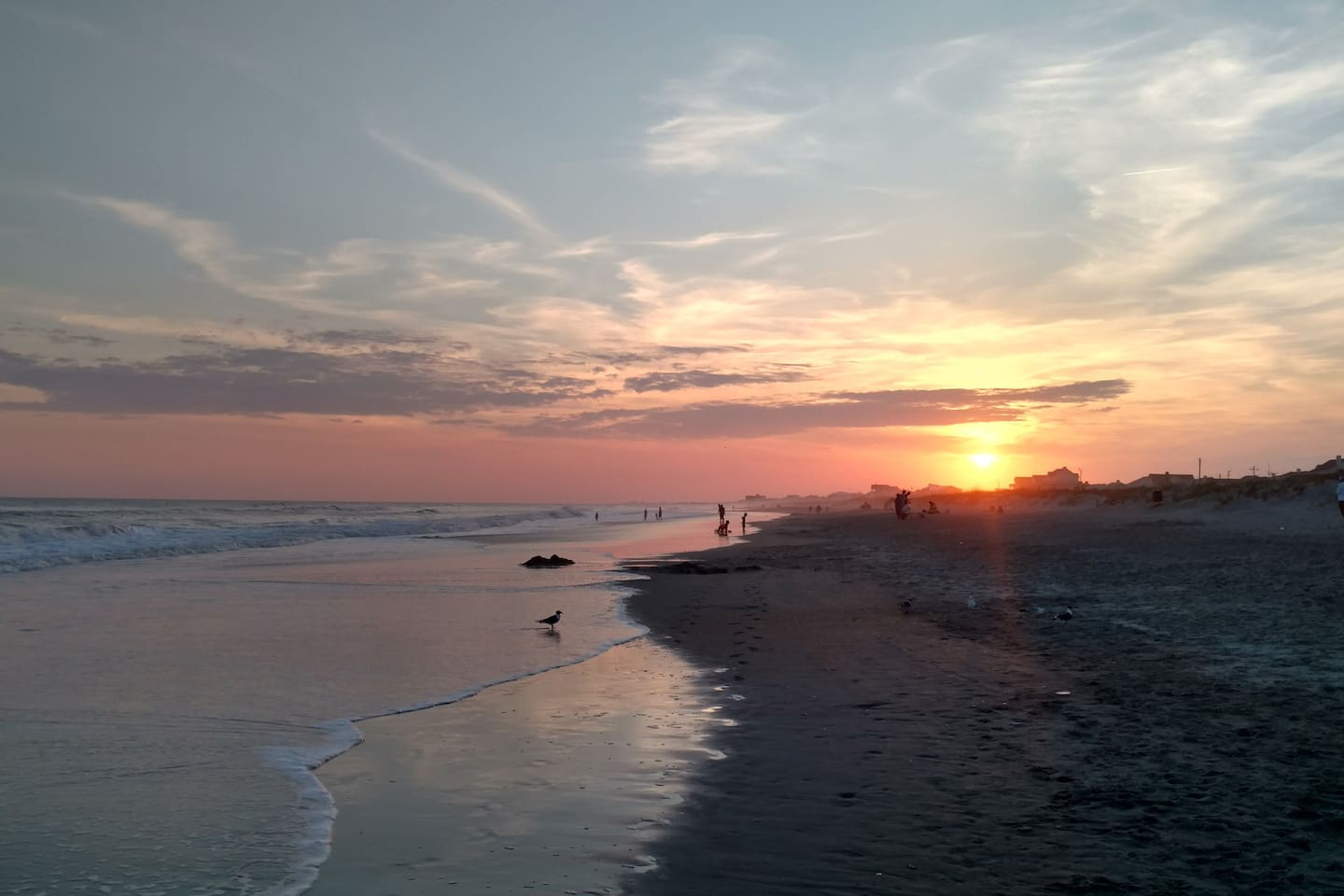 With our orientation here on the Southern Outer Banks, you can see sunrise, and sunset!