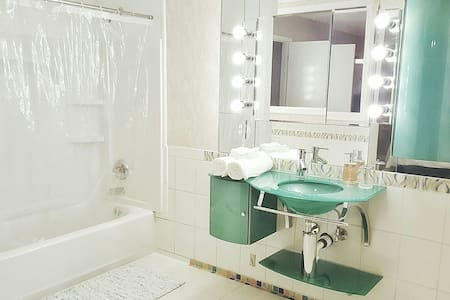 Relaxing Private Room W/Private Bath - Metairie - Kondominium