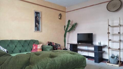 Ankara siteti - Rustic African themed 2 bedroom