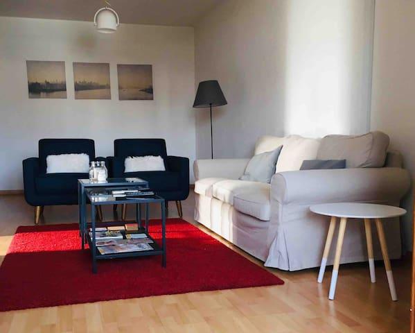 Down town Nicosia apartment 1 bedroom Wifi/CableTV