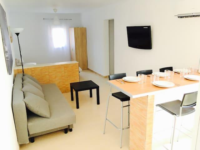 Appartement Loft neuf et climatisé 100% confort
