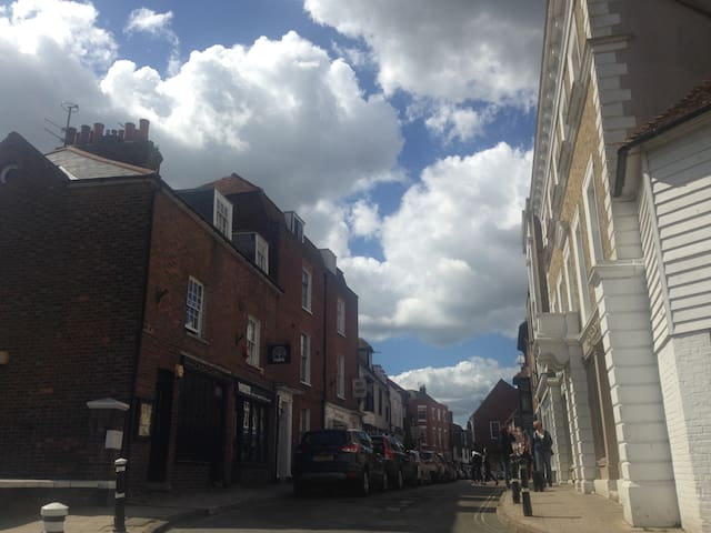 Beautiful flat in the heart of Historic Rye - Rye - Apartamento