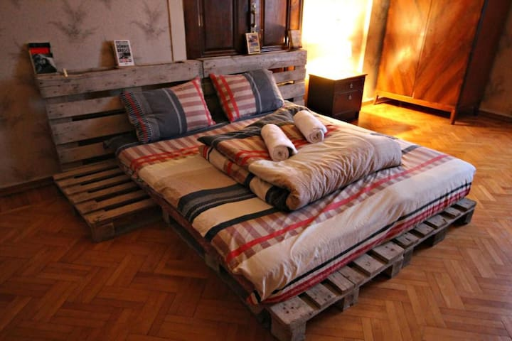 Budget Double room at Dingo Backpackers Hostel