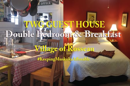 TWG GUEST HOUSE - DOUBLE BEDROOM - Rosseau - Bed & Breakfast
