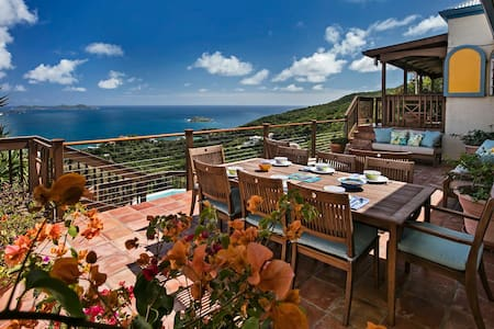 Palladios's View, Private Villa with Amazing Views - St. John