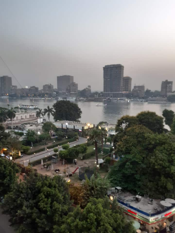 Salem apartment with Nile View