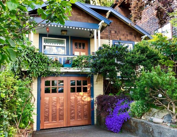 Cozy Home Near Lake Union & UW