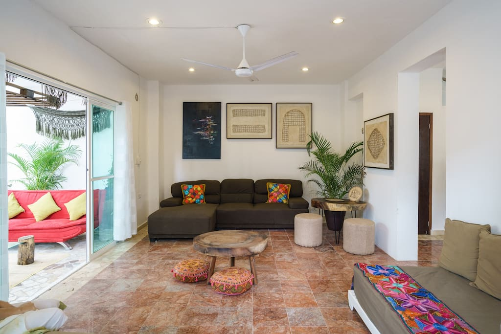 Casa Bliss Beautiful Home 3 Blocks From Center Houses For Rent In Tulum Quintana Roo Mexico