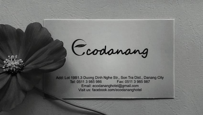 Cozy Ecodanang - 500m from My Khe Beach