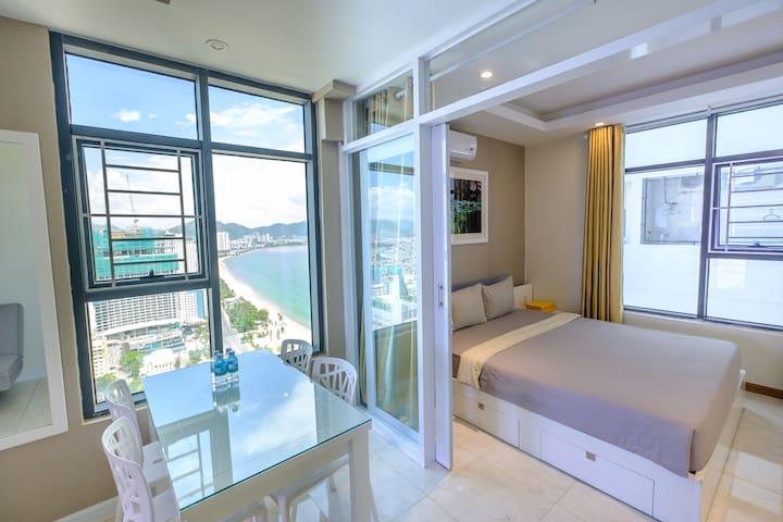 Highfloor- 2bedrooms apartment with ocean view