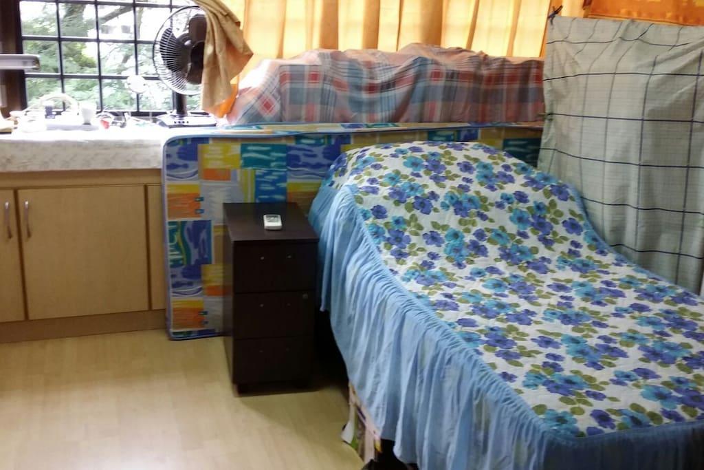 Aircon Cosy Guest Room