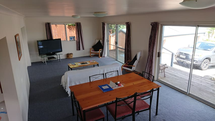 Lounge dinning room table very spacious
