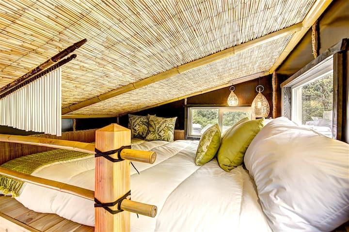 Bamboo Tiny House @ Tiny Digs Hotel