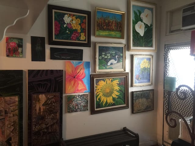 Amazing Living Art Gallery in the Friendly Town