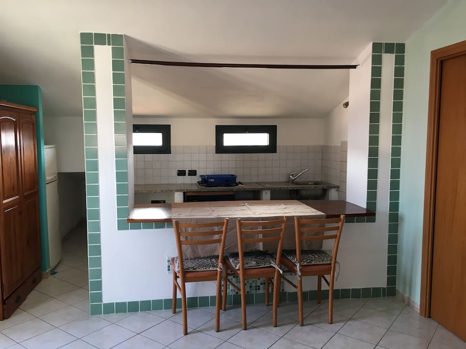 zona Cucina e Pranzo (kitchen & lunch)