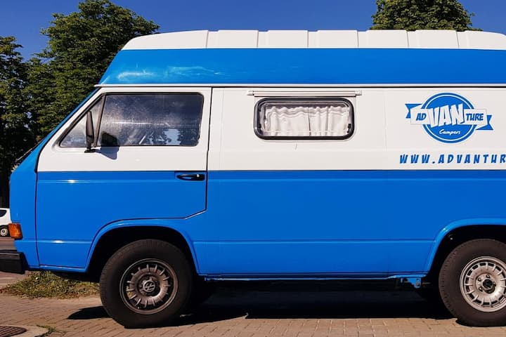 Unique adVANture VW T3 Campervan ready to travel