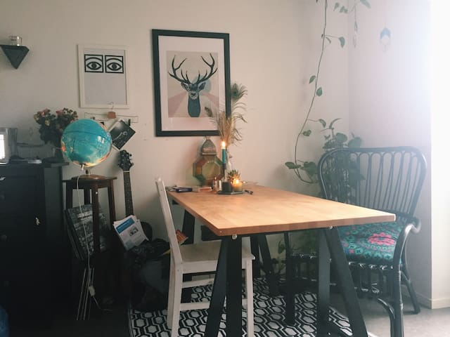 A bohemian apartment in the central of Gothenburg - Gothenburg - Byt