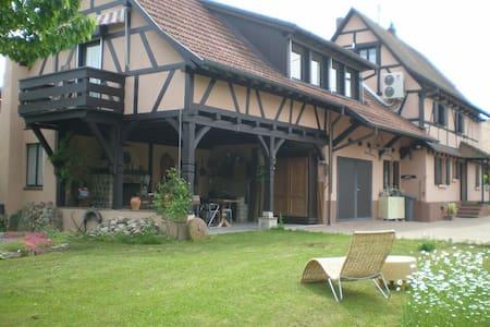 Chambre familiale/ 2 chambres séparées - Uffheim - Dům pro hosty