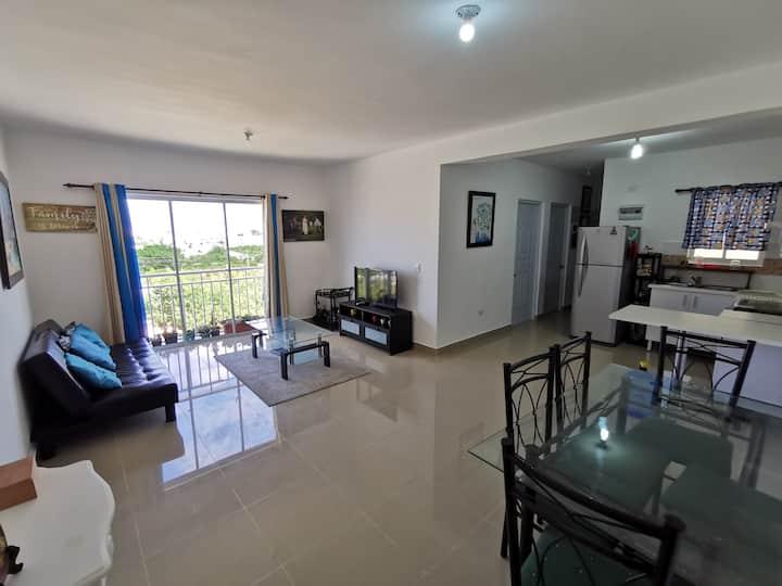 Beautiful apartment at Punta Cana (one free tour)