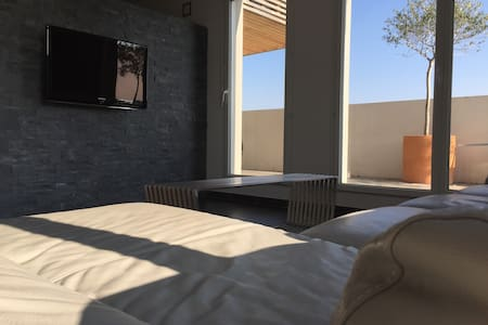 T2 atypique avec terrasse géante