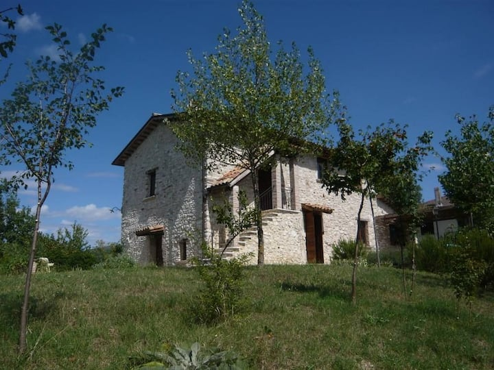 Old stone house in the Alta Sabina, Rieti, Latium