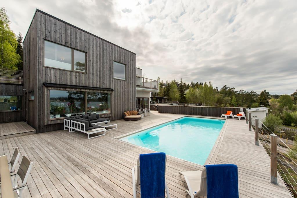 Pool 10x4 on 200sqm deck
