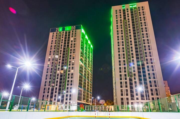 Двухкомнатные апартаменты на юге Екатеринбурга