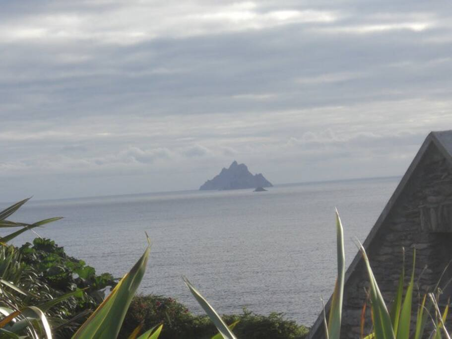 The Skelligs Rocks. '' May the force be with you ''