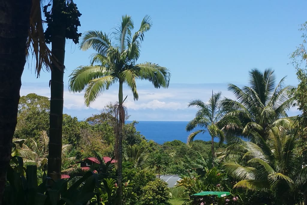 ocean view from deck.