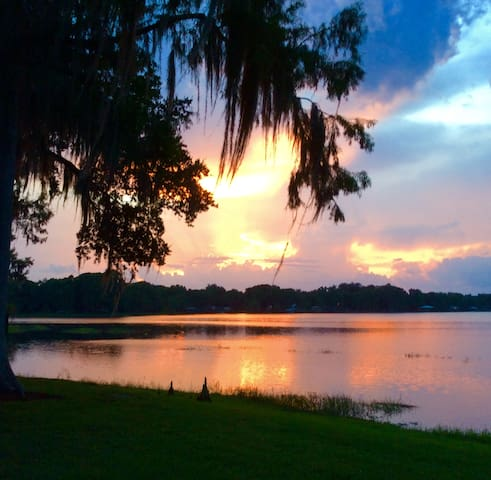 New to Airbnb Serene Lake Home on Duval Island
