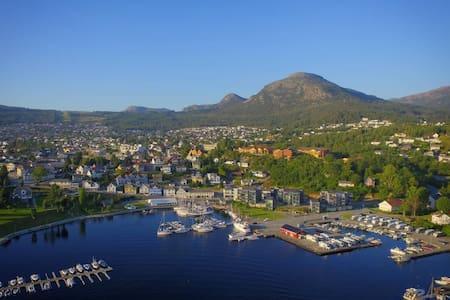 Modern apartment in the Harbour of Jørpeland