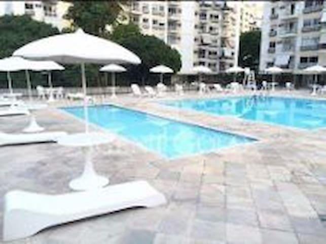 Quarto privativo - Río de Janeiro - Apto. en complejo residencial