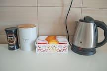 Tea & Coffee provided