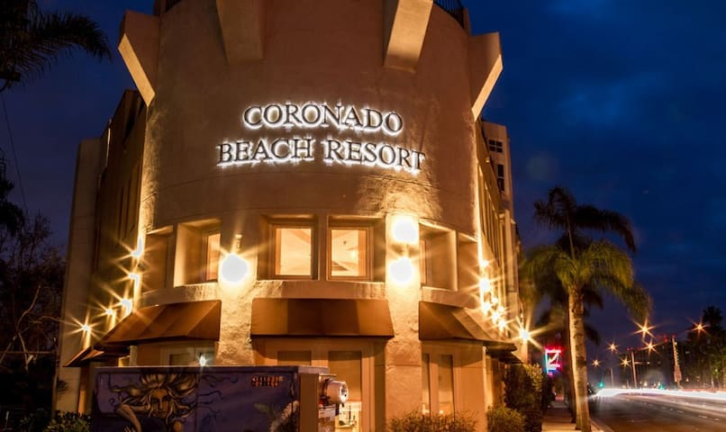 CORONADO BEACH RESORT - at CORONADO BEACH!